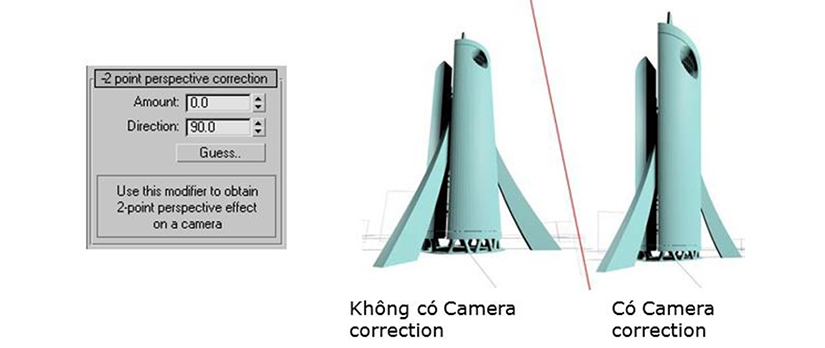Cach dat camera trong 3dmax 14